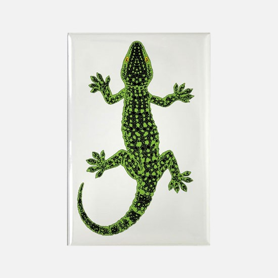 Gecko Rectangle Magnet