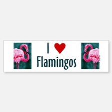Flamingo Bumper Bumper Bumper Sticker