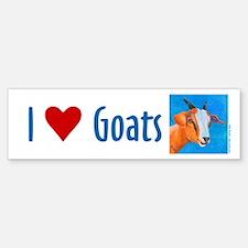 Goat #1 Bumper Bumper Bumper Sticker