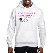 Corpsmans Girlfriend, my way of life Hoodie