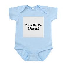 Thank God For Sarai Infant Creeper