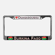 Ouagadougou, BURKINA FASO - License Plate Frame