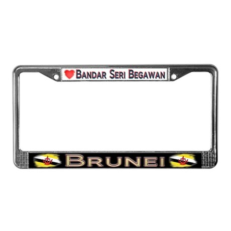 Bandar Seri Begawan, BRUNEI - License Plate Frame