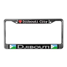 Djibouti City, DJIBOUTI - License Plate Frame