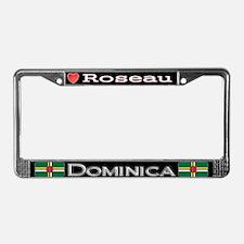 Roseau, DOMINICA - License Plate Frame
