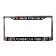 Santo Domingo, DOMINICAN REP - License Plate Frame