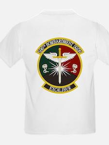 596th Bomb Squadron Kid's Light T-Shirt