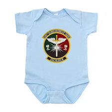 596th Bomb Squadron Infant Bodysuit