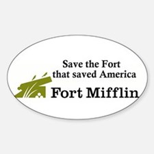 Save the Fort Oval Decal