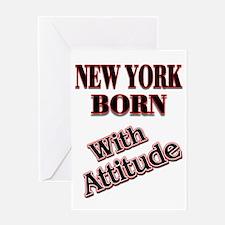 NY NY Greeting Card