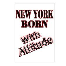 NY NY Postcards (Package of 8)