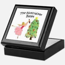 Nutcracker & Clara Keepsake Box