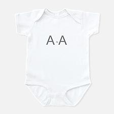 A is A Infant Bodysuit