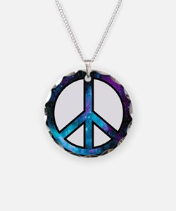 Galactic Peace Necklace