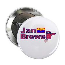 """Jan Brewer 2.25"""" Button (10 pack)"""