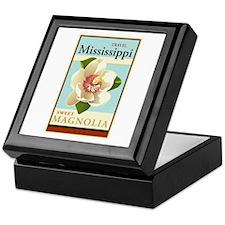Travel Mississippi Keepsake Box