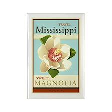 Travel Mississippi Rectangle Magnet