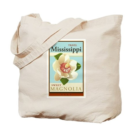 Travel Mississippi Tote Bag