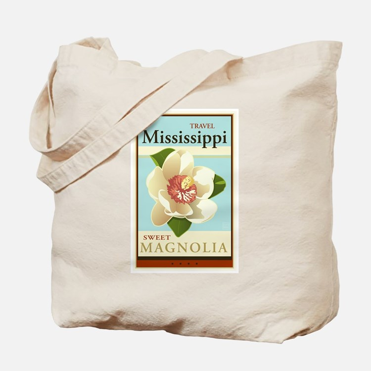 Travel Mississippi Tote Bag