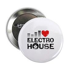 "I love Electro House 2.25"" Button"