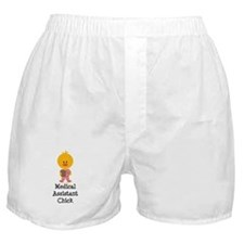 Medical Assistant Chick Boxer Shorts
