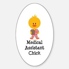 Medical Assistant Chick Decal