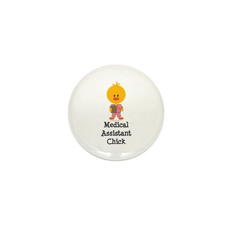 Medical Assistant Chick Mini Button (100 pack)
