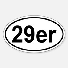 29er Oval Decal