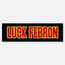 Luck Febron Sticker (Bumper)
