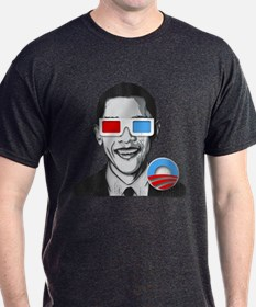 The Obama 3D Glasses Tshirt