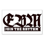EBM 2 - Join the Rhythm - Sticker (Rectangle)