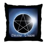 Divine Union Throw Pillow