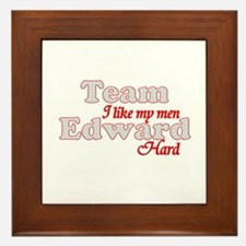 Cute Edward Framed Tile