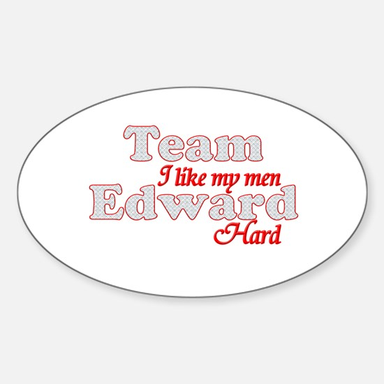Cute Team edward Sticker (Oval)
