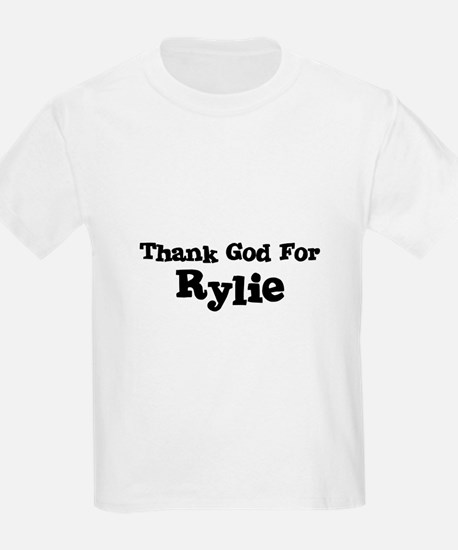 Thank God For Rylie Kids T-Shirt