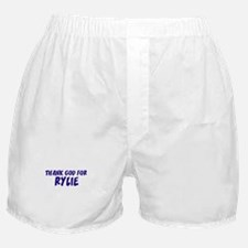 Thank God For Rylie Boxer Shorts