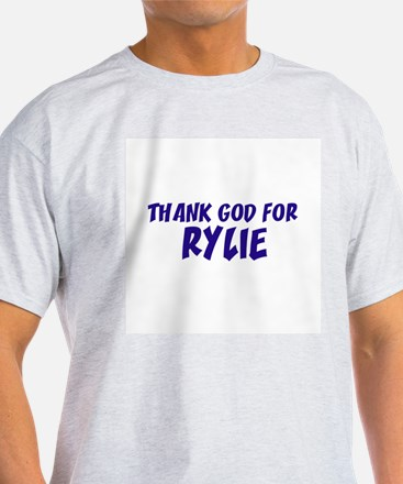 Thank God For Rylie Ash Grey T-Shirt