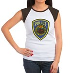 Bureau of Reclamation Police Women's Cap Sleeve T-