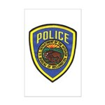 Bureau of Reclamation Police Mini Poster Print
