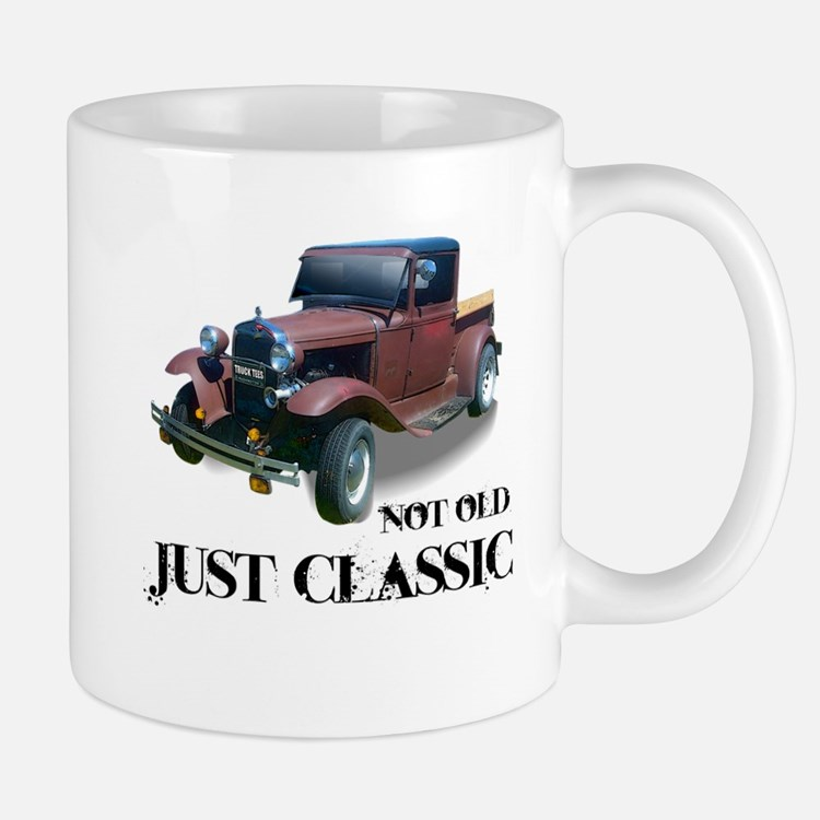 """not old """"just classic"""" Mug"""