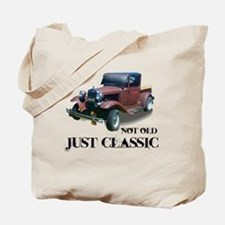 "not old ""just classic"" Tote Bag"