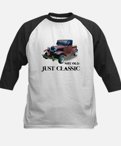"""not old """"just classic"""" Kids Baseball Jersey"""