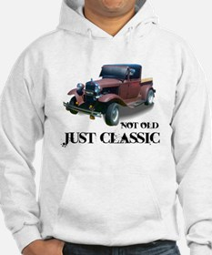 "not old ""just classic"" Jumper Hoody"