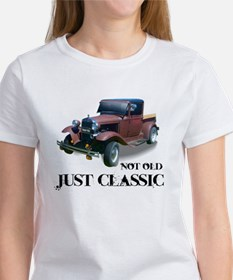 """not old """"just classic"""" Tee"""