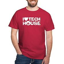 I Love Tech House T-Shirt