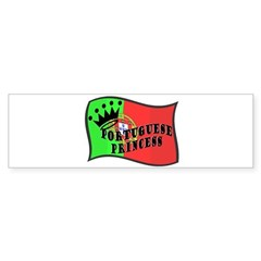 Portuguese Princess Bumper Bumper Sticker
