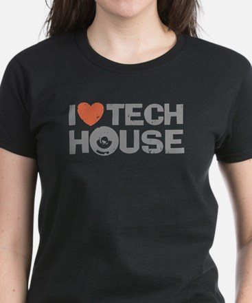 I Love Tech House Tee