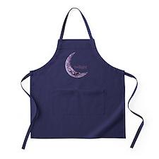 Twilight Quarter Moon Apron (dark)