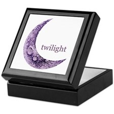 Twilight Quarter Moon Keepsake Box