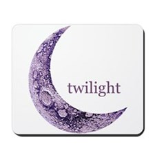 Twilight Quarter Moon Mousepad